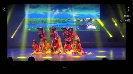 琛韵小天鹅舞蹈学校〈康定情歌〉表演者:陈婷婷、严诗语等