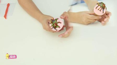 爱食玩视频 第104集 蛋卷冰淇淋食玩玩具