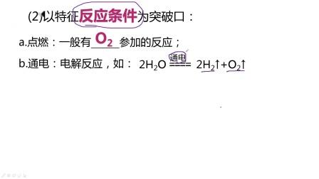 初三化学推断题复习微课