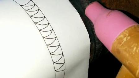 氩弧焊摇把焊接基本手法