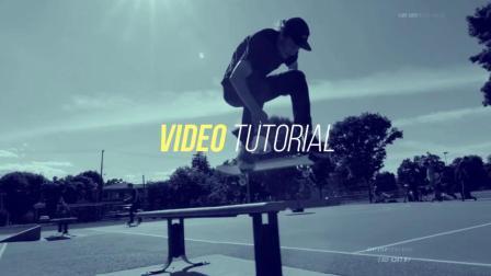 体育运动主题的宣传视频