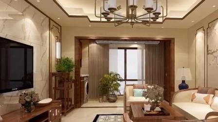 100平新中式装修,花了30万,贵吗?福州龙头装饰公司