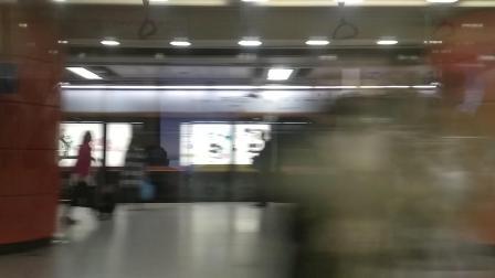 广州地铁3号线体育西路→林和西03x041-042飞机机车