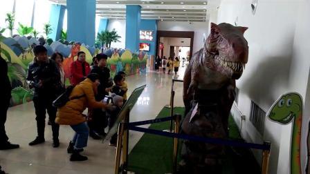 上海惊鸿机器人恐龙下蛋机器人卡通迎宾机器人玩偶机器人智能机器人互动机器人