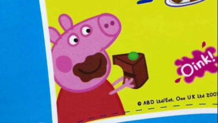 小猪佩奇的新玩具大礼盒,厨房蛋糕店玩具