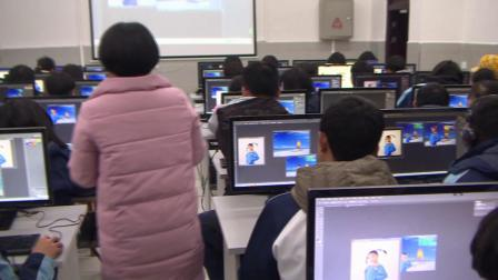 保靖民族中学高一信息技术课刘春艳《图像处理》