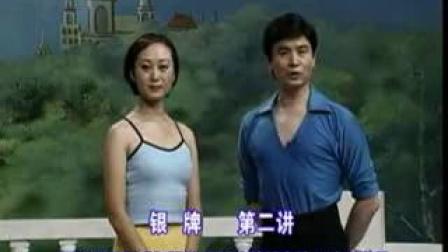 02 阎岭&张嵘恰恰银牌第二讲 阿列曼娜 闭式扭臀步 曲棍步接强力转 三个恰恰