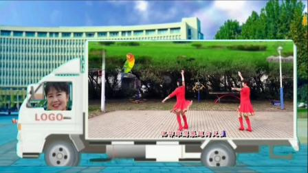 柳州仙姐广场舞《潇洒人生》2人板