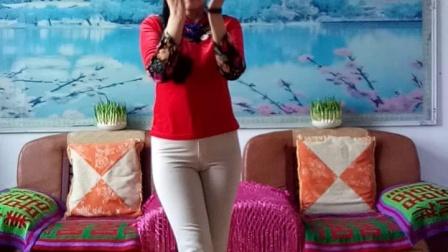 大汶口程程广场舞《我爱上一朵花》