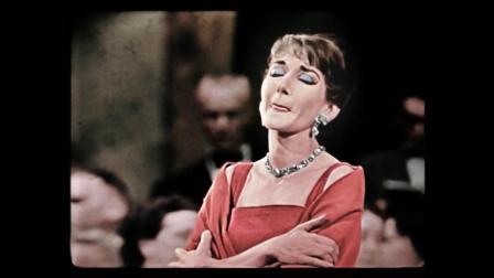 玛丽亚.卡拉斯《圣洁的女神》贝利尼歌剧《诺尔玛》1958年巴黎 - Casta Diva -   Maria Callas