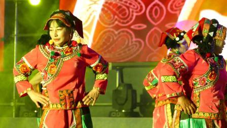 舞蹈--阿诗且;  攀枝花市啊喇乡永富社区舞蹈队