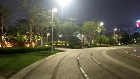 海口 日月广场夜景