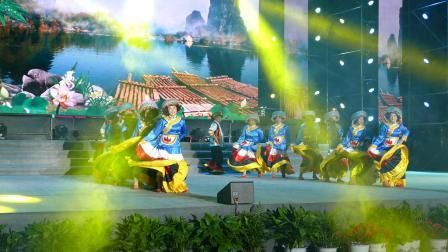 舞蹈 -- 水田人家油茶香;攀枝花市福田镇塘坝村水田彝族舞蹈队