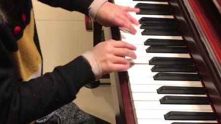 天使之城-钢琴版,八岁小女孩演绎