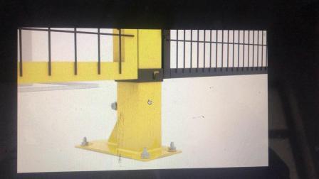 机器设备防护围栏