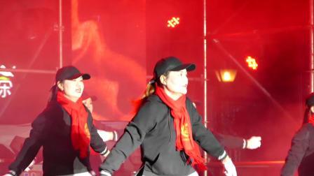 舞蹈 -- 冬天里的一把火;攀枝花市大龙潭乡新街村文艺队