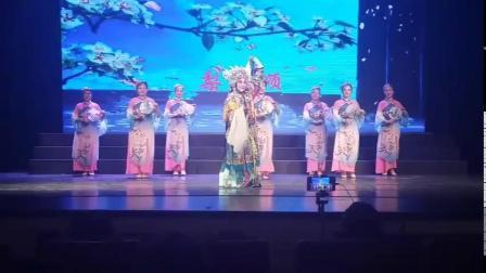 浦兴街道健身舞队参加长征兰馨芳韵京剧社五周年庆典演出会,表演