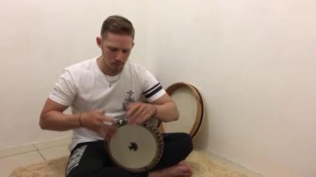 Darbuka Tutorial #3 (double strokes)
