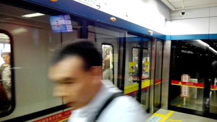 广州地铁2号线(变声老鼠)出飞翔公园站