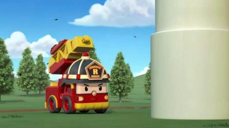 变形警车:海利舍自己救本尼,风车救了本尼一命