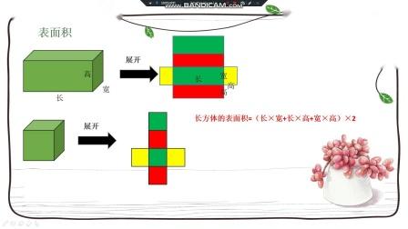 五年级数学寒假 第三讲长方体正方体的表面积(3)