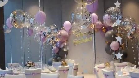 气球婚礼布置欣赏
