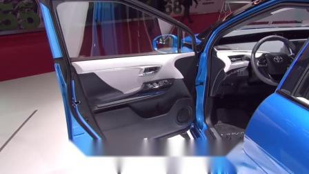 丰田新能源汽车来了!2019丰田Mirai氢燃料汽车,续航可达650公里