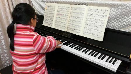 谈莉莉学生钢琴演奏—库劳小奏鸣曲Op.20 No.3(演奏者:陈若心)
