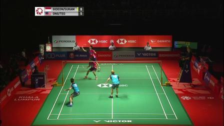 2019马来西亚羽毛球大师赛决赛最佳球