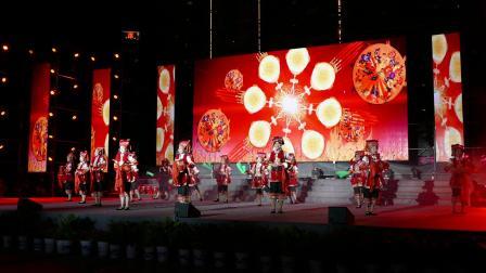 舞蹈 -- 大河欢鼓;攀枝花市仁和区文化馆