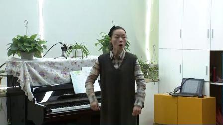 人音版六下第1課《游子吟》課堂教學視頻實錄-胡甘慧