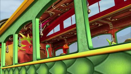 侏罗纪公园 世界 恐龙的火车旅行