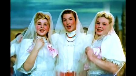 1949前苏联译制片《幸福的生活》电影原声插曲《红莓花儿开》