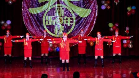当兵就市那么帅-津市广场舞协会新年联谊会