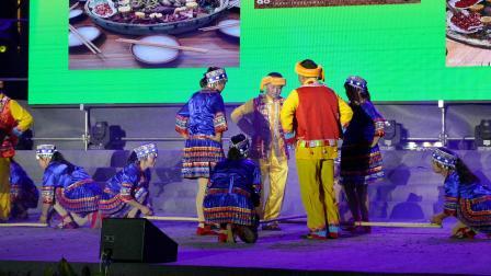舞蹈 -- 竹林声声响;攀枝花市仁和区太平乡红岩村文艺队