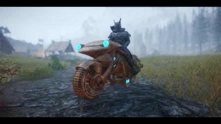 【游民星空】《上古卷轴5:天际》矮人摩托车MOD
