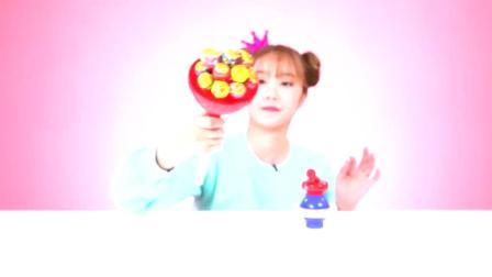 珍宝珠冰淇淋玩具,用糖果来制作冰淇淋的趣味游戏!