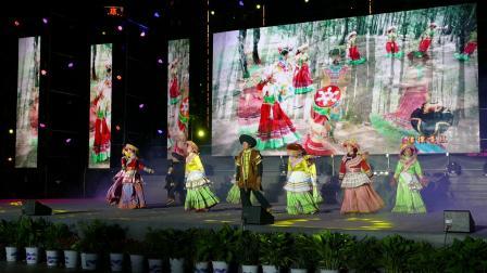舞蹈 -- 请到傈僳山寨来--;攀枝花市仁和区啊喇乡啊喇村傈僳表演队