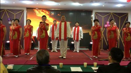 京歌表演《中国脊梁》凤凰社区国粹京剧团