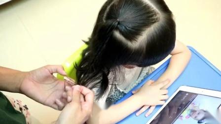 儿童漂亮辫子的详细编法教程,五分钟让女儿变身美美哒小公举!