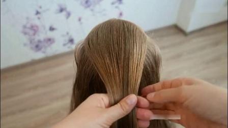 时尚大气的女宝宝交叉编发教程,开学第一天就梳这个漂亮的发型吧!
