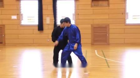 日本人的太极拳功夫,推手演练