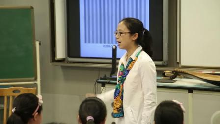 人音版音樂六下第7課《和平頌》課堂教學視頻實錄-劉項丹