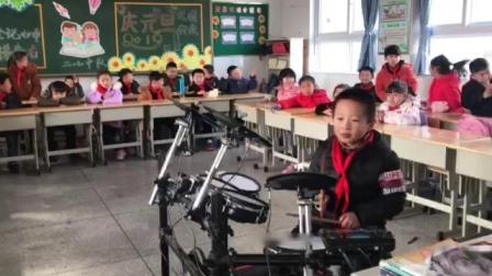 魏羽杰架子鼓表演《逆战》
