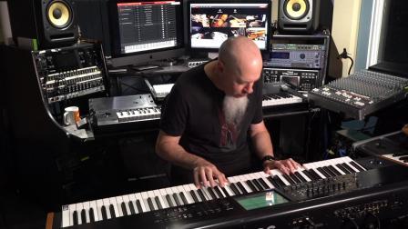Jordan Rudess演示SampleTank 4_ Tonewheel风琴