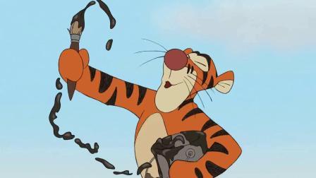 【小熊维尼】跳跳虎给驴子装弹簧