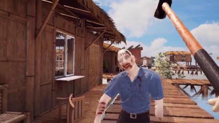 FPS僵尸生存类VR游戏《Dead GroundZ》抢先版试玩