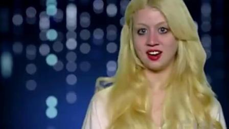 全美超模大赛:精灵娃娃冒风走秀,不幸意外走光还是那么美