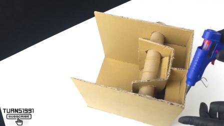 玩加超级盒子-手工制作纸牌机DIY