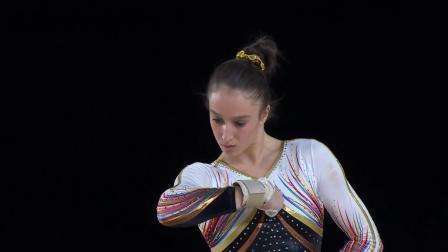 Nina Derwael-17世锦赛全能决赛自由操(5.1 13.366)